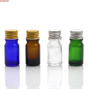 5 ml Kozmetik Kapları Şişe Yüksek Kaliteli Cam Doldurulabilir Alüminyum Kap Örnek Ambalaj Flakon Emülsiyon Kavanoz Miktarı