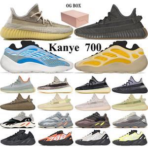 700 Running Shoes Homens Mulheres Nuvem Branca Preto Reflective Antlia Citrin Synth estática Moda Mens treinadores desportivos Sneaker Size 36-46