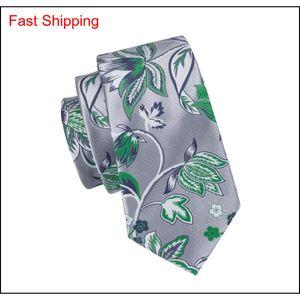 China Silk Gravatas Homens Silva e Verde Bela Gravatas Handkerchief Cufflinks Set para Qylygo formal DH_Seller2010