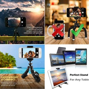 Mini Flexible Sponge Octopus Tripod For Sport Action Video Camera Portable Mobile Phone Stand For Iphone 11 Pro