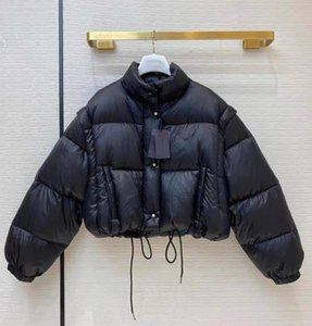 2020 Prada down coat Prada winter jacket Marque Mode Femmes Luxe Classique Designer manteau de duvet parka épais manteaux Veste solide Zipper Sweat Top 2020110501T Qualité