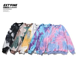 Privathinker Hip Hop Streetwear Cravate Teams Sweatshirts Automne Hiver Hommes Baggy Sweats à capuche BTS KPOP Hoodies Man C C0127