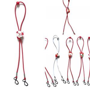 Prevent Verlieren Weihnachten Verlängerung Rope Kid Mascherine Trageband Karikatur-Socken Schneeflocken Cords Hot Verkauf 1 4bd F2