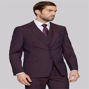 New men's 3 Pieces Business Suits British style dress suit men's casual vest classic wedding Party Prom Occasion