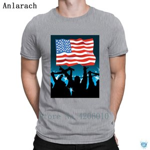 Gott segne Amerika billige Persönlichkeitsbrief-Gents Urlichkeit Rundkragen Anlarach Authentic Hoodie Designer T-shirts Sweatshirt