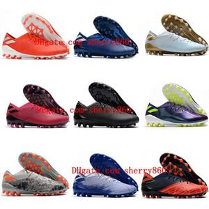 2020 tacchetti da calcio originali NEMEZIZ 19,1 AG mens scarpe da calcio a buon mercato in pelle scarpe da calcio basso alla caviglia all'aperto scarpe da calcio Hot