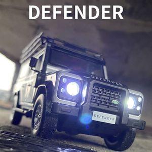 Ücretsiz Kargo Yeni 1:32 Land Rover Defender Alaşım Araba Modeli Diecasts Oyuncak Araçlar Oyuncak Arabalar Çocuk Oyuncakları Çocuklar Için Hediyeler Erkek Oyuncak X0102