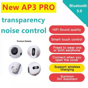 H1 chip Pro Air headphones Rename & GPS earphones Top Sound Quality With Smart Sensor pods PK AP2 AP3 i9s i18 i200 i500 TWS