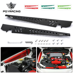 Fender Shrouds Kit Aluminum Black (Red Green Deep Green) Panel Plate Engine Bay w  Hardware For 15-on Subaru WRX & STi PQY-CCR04