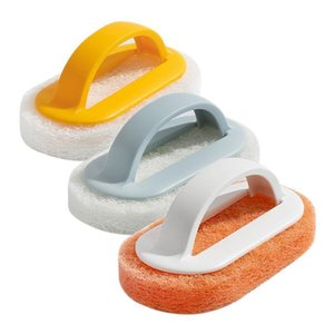 Dishwashing Cloth Scrub Pad Dish Bowl Pot Clean Scrubber Sponge Kitchen Clean Brushes Scrub Pads Window Cleaner Toilet Brush Wc H bbyZPG