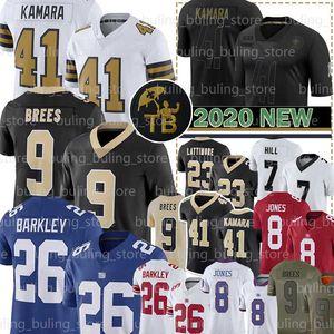 9 Drew Brees Jersey 41 Alvin Kamara 7 Taysom Hill 13 Michael Thomas Cameron 94 23 Marshon Lattimore fútbol jerseys