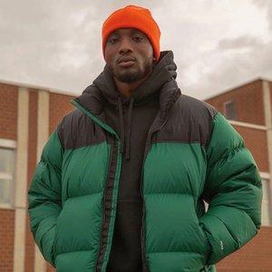 20FW Классический Nuptse пуховики зима теплая Открытый пальто ветрозащитный хлеб пуховик Street High End Outwear HFYMJK329