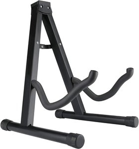 Avenda Guitar Stand, A-Frame Universal Folding Instrument Stand for Acoustic Electric Bass Guitar