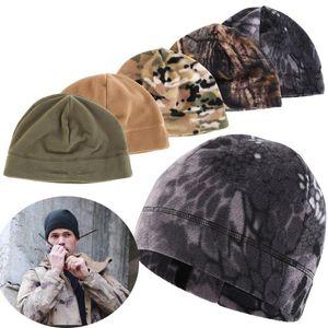 Unisex Hüte Winter Wandern Caps Warme Fleece Angeln Radmütze Außen Windundurchlässig Männer Frauen Jagd Tactical Caps