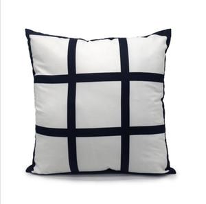 Sublimação Transferência Fronha 9 Painel Calor de Impressão Calor Travesseiro Coberturas DIY Almofada Throw Sofá Pillowcases Crianças Fahrenheit Pillow FWC3362