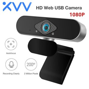 Xiaovv 1080P Webcam With Microphone 150° Wide Angle USB HD Camera Laptop Computer Webcast For Zoom YouTube Skype FaceTime