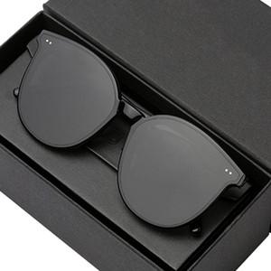 2020 étoile coréenne Lunettes de soleil populaires Fashion Femmes rondes lunettes de soleil lunettes hommes doux monster lunettes de soleil luxe paquet solo q0121