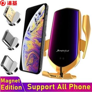 10W автомобильный держатель телефона магнитное зарядное устройство Автомобиль быстрое беспроводное зарядное устройство для iPhone Samsung Xiaomi все смартфон