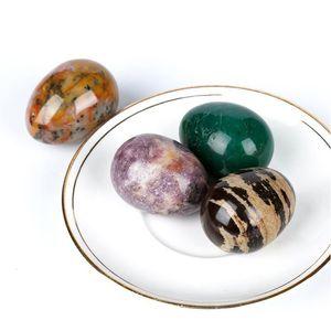 1PC délicat ellipse pierres naturelles et minéraux de forme cristalline cristaux cristaux peuvent être USD à la décoration de la décoration de la maison et à Jllalf