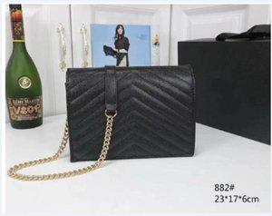 Ladies Mujeres Bolsa de Hombro Para Mujer Casual Casual Calidad Mano Mano Bolsas de Cadena de Moda New Lady Handbags Messenger Purse Monederos Duibr