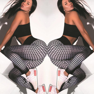 QNPQYX New aptidão impressão run Leggings Mulher Pants 2020 Workout Sports Calças Feminino Elastic cintura alta Push Up Legging