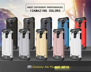 SGP Case For Samsung J2 core J4 plus J6 1 J3 J7 J8 J5 bullet proof vest double layer hybrid phone set