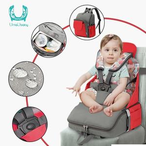 Umaubaby fralda multifunction bebê jantar de segurança para grande capacidade maternidade fraldagem organizador 201120