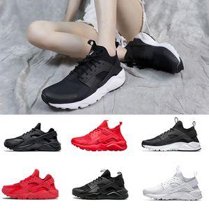 2020 Huarache 1.0 de 4.0 hombres que las mujeres raya roja Negro Blanco de oro rosa de las mujeres zapatos de diseño huaraches Ultra Reflexionar Sport zapatillas de deporte