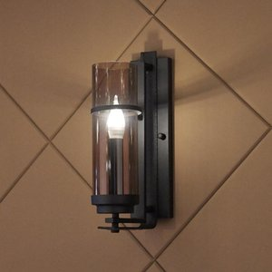 Nordic Sala de estar Vidro Lâmpada de parede Pós-moderna Personalidade Minimalista Quente Aisle Quarto Led Designer Lamp