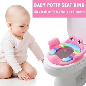 Baby Toilet Potties Children Potty Safe Seat With Armrests for Gril Boy Trainers Comfortable Toilet Large Size Ring Infant Pottyreg