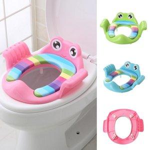Baby Travel Folding Potty Training Seat toddler Toilet Seat children Urinal Cushion Children Pot Chair Pad  Mat Adjustable Train LJ201110
