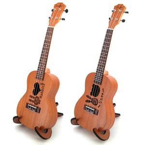 New arrival High Quality 26 Inch Electronic Soundtrack Bass Ukulele Grape Sound Hole 4 String Hawaiian Guitar Rosewood Ukulele Guitar