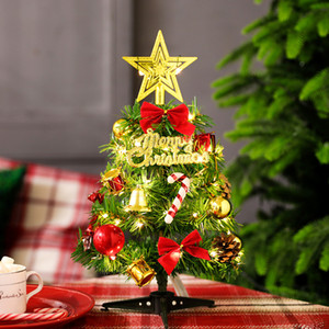 Christmas fashion Santa blessing words PVC gift Christmas Tree Decoration Christmas Light String For Home Holiday Dector