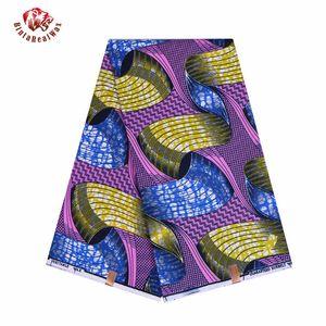 African Wax Prints Fabric new Bintarealwax 2019 Ankara Bazin High Quality 6 yards African Fabric for Party Dress FP6079