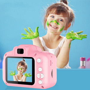 Детские камеры дети мини цифровая камера милый мультфильм игрушки камеры для подарка на день рождения 2 дюймовый экран камера фотографировать Zyyy421