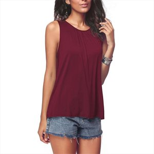 tank top women underwear plus size cotton sleeveless regata feminina round neck loose t shirt ladies vest singlets camisole top