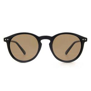 Cyxus Art und Weise polarisierte Sonnenbrillen für Frauen Runde Retro-Rahmen mit Anti 100% UV400 1065