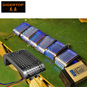 Gigertop TP-E41 New Led Tortoise Light 10W 36PCS 5050SMD RGB 3IN1 Led Lamps with Hanging Clamps Aluminum Cover Computer Control