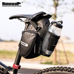 Rhinowalk 2021 Новое Прибытие Велосипед с Водой Бутылка Карманные Водонепроницаемый Задний Велосипед Сумки Saddle Bag Hav Cast Q1230