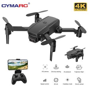 Cymarc KF611 البسيطة بدون طيار مع 4K HD كاميرا 1080 وعاء wifi fpv rc الطائرة الارتفاع عقد طوي rc quadcopter dron e88 m73 xt6 201105