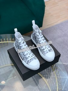 High quality women's shoes 1.1 latest flower technology canvas shoes fashion men's L ladies ladies low-cut casual high-stripe canvas shoes