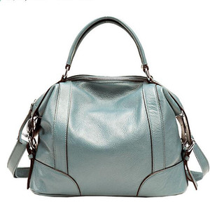 Wholesale Genuine leather women tote high quality