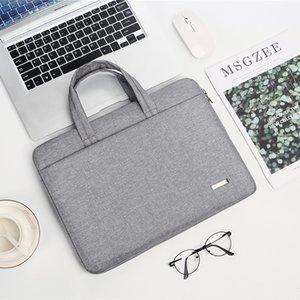 Laptop Bag Leather Shoulder Bags Men and Women Handbag Briefcase T300 For 11-15 inch and Below Notebook Laptop Handbag