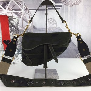 2020new известный бренд женская сумка седло ретро высокого качества седло сумка сумки звезда знаменитость вдохновение вышивка плеча BAG1