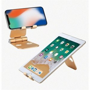 Universal desktop tablet shockproof metal holder durable aluminum mobile telephone stand LJJP09 b5E3#