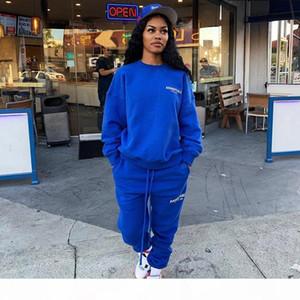 Angst vor Gott Nebel Essentials X TMC Crenshaw La Limited CrewNeck Sweatshirts Beiläufige übergroße Pullover Pullover Männer Frauen Hip Hop Streetwear