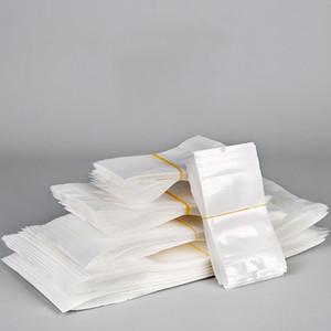 Self sealing pvc opp packaging bags translucent plastic mobile iphone zipper Zip data line bag mask Accessories food cosmetics gifts digital