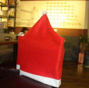 Christmas Sed Sed Cover Creativo Creativo Coperture Sedile Sedia Ristorante Cappello Ornamenti Merry Xmas Holiday Merry Xmas Holiday GWC3360