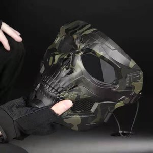 New Halloween Party Mask Party Game Tactical Equipment Adapted to FAST Tactical Sports Helmets zdl1225.