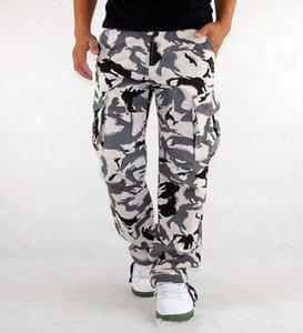 남성용화물 바지 밀리포 의류 전술 바지 남성 야외 위장 군대 스타일 카모 workwear 바지 큰 크기 s-xxxl x1218